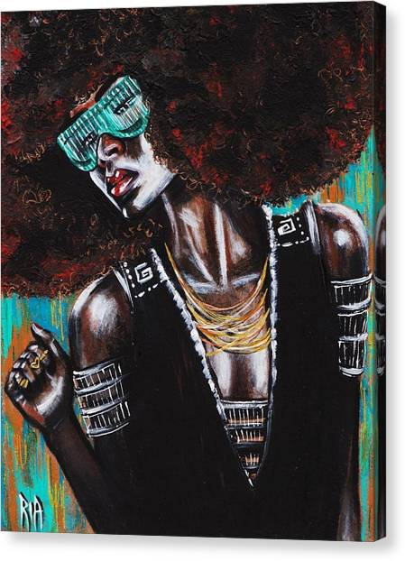 Canvas Print - Unbreakable by Artist RiA
