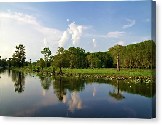 Uncertain Reflection Canvas Print