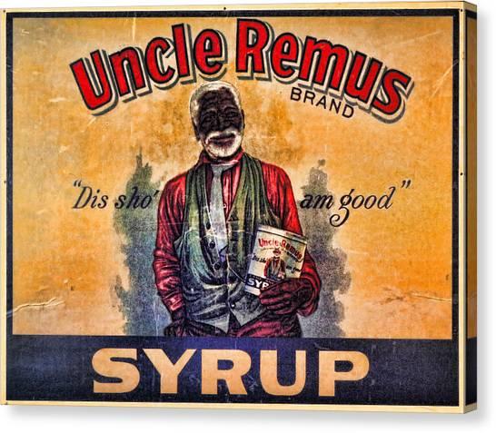 Uncle Remus  Canvas Print by Lee Dos Santos