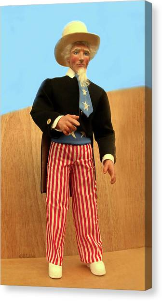 Uncle Sam Canvas Print