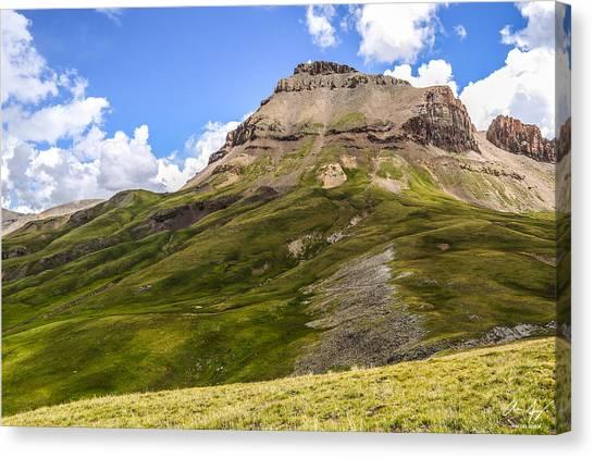 Uncompahgre Peak Canvas Print