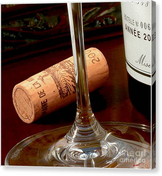 Cognac Canvas Print - Uncorked by Jon Neidert