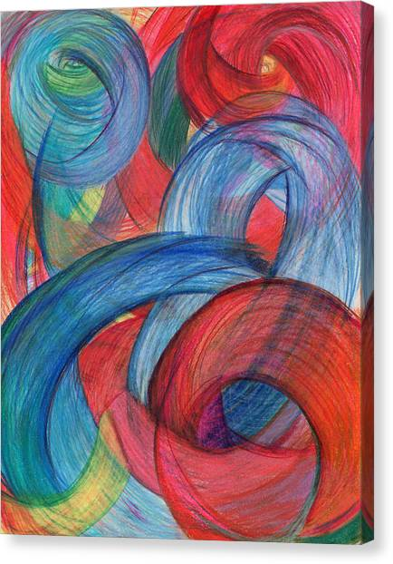 Uncovered Curves-vertical Canvas Print