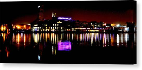 Under Armour At Night Canvas Print