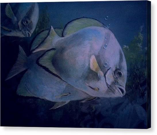 Under Blue. Canvas Print by Ruben  Llano