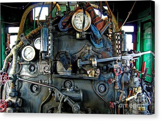 Thomas The Train Canvas Print - Under Pressure by Guy Harnett