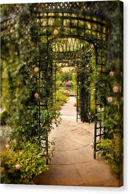 Arbor Canvas Print - Under The Arbor by Jessica Jenney