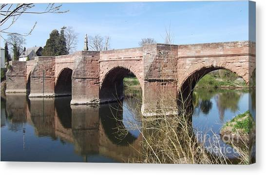 Under The Arches Canvas Print