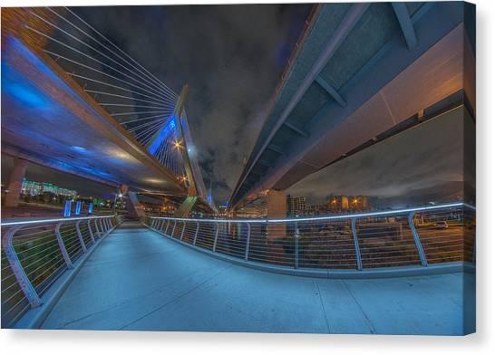 Under The Bridge Downtown Canvas Print
