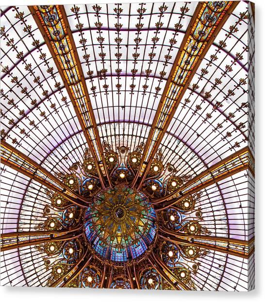 Under The Dome - Paris, France Canvas Print