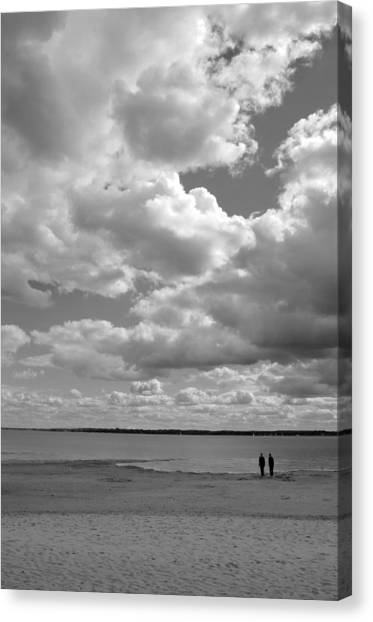 Under The Huge Sky Canvas Print