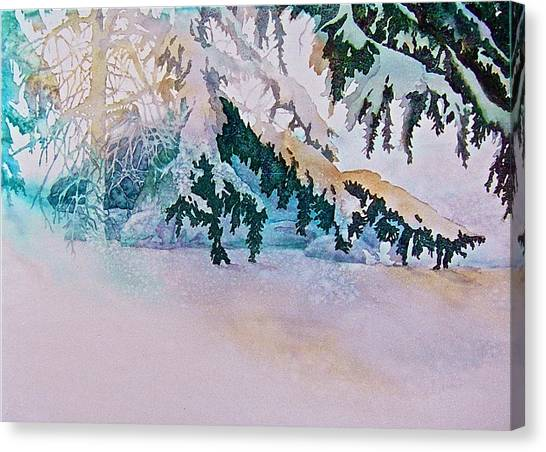 Under The Pines Canvas Print
