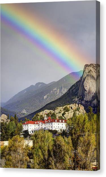 Under The Rainbow Canvas Print by G Wigler