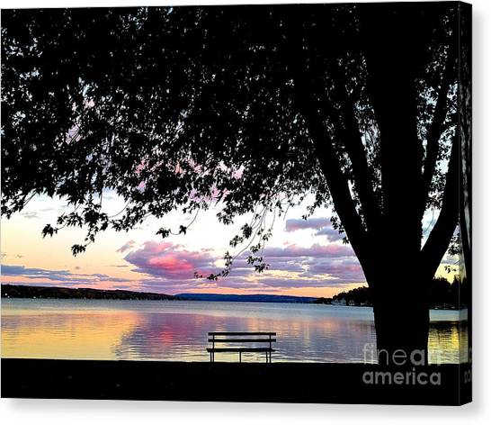 Under The Tree Canvas Print