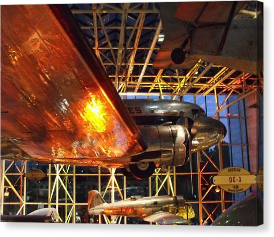 Smithsonian Institute Canvas Print - Under The Wing by Rick Jackson