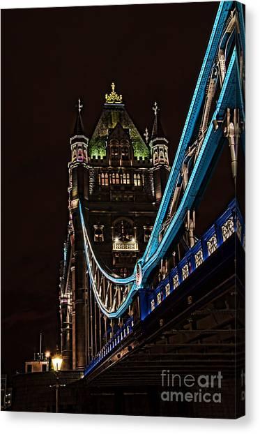 Stamford Bridge Canvas Print - Under Tower Bridge by Steev Stamford