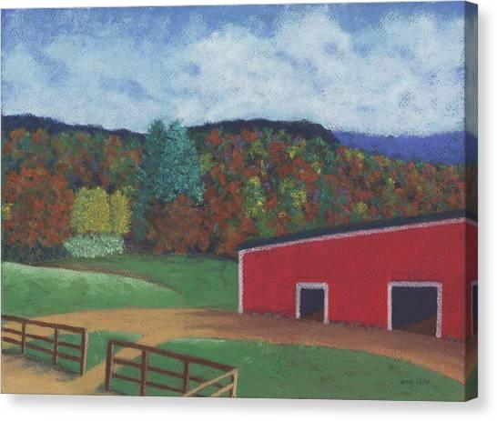 Undermountain Autumn Canvas Print