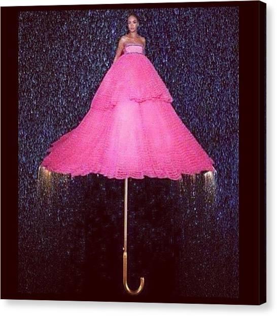 Rihanna Canvas Print - #undermyumbrella #raining #rihanna by Oscar Lopez