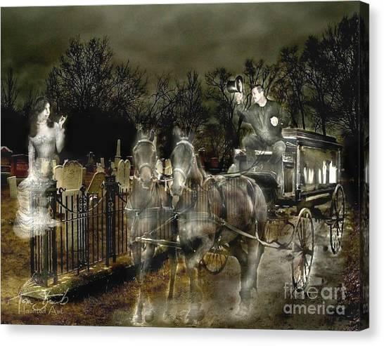 Undertaker Canvas Print by Tom Straub