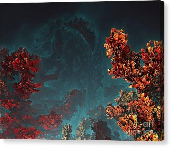 Underwater 5 Canvas Print by Bernard MICHEL