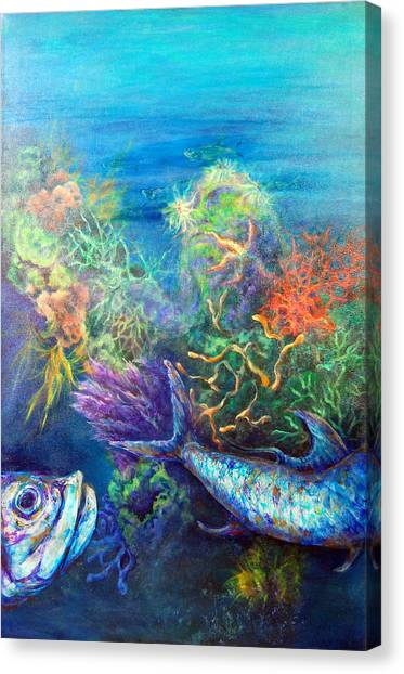 Jesus Reef  Canvas Print