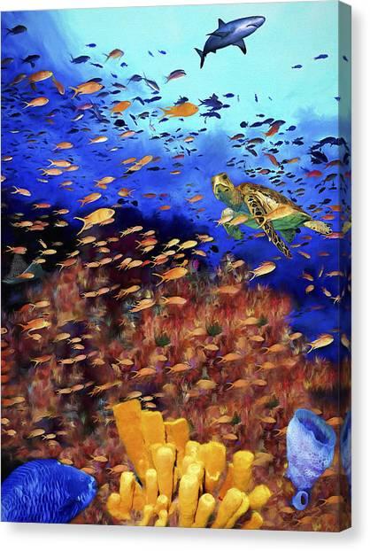 Underwater Wonderland Canvas Print