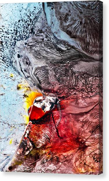 Underworld Feeding Ground Canvas Print by Petros Yiannakas