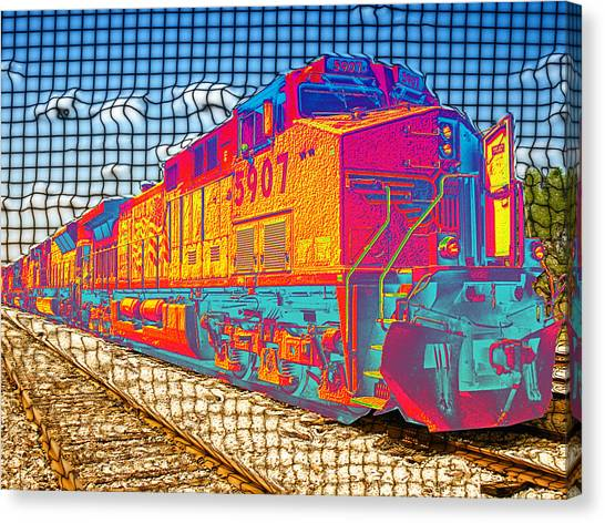 Unexpected Journey Canvas Print by Wendy J St Christopher