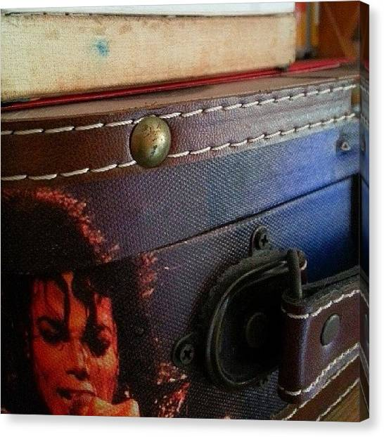 Michael Jackson Canvas Print - Unforgettable by Thila K