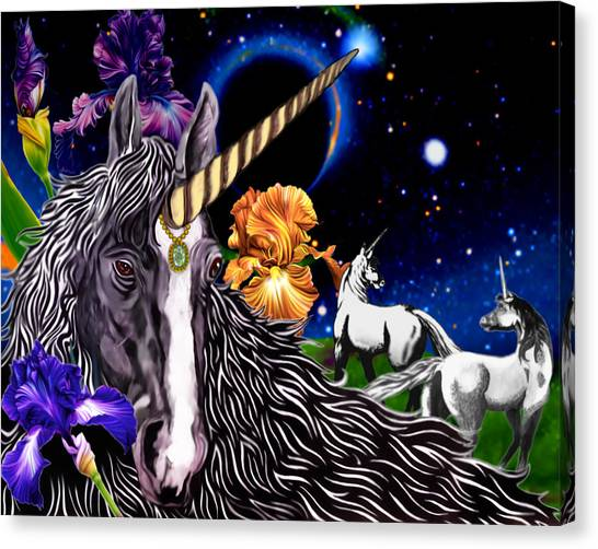 Unicorn Dream Canvas Print