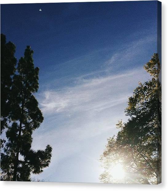 Ufos Canvas Print - Unidentified #lategram #sky #vscocam by Jb Verances