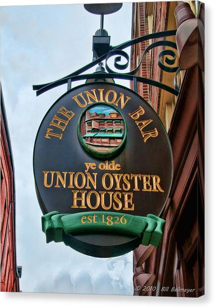 Union Oyster House  Canvas Print by Bill