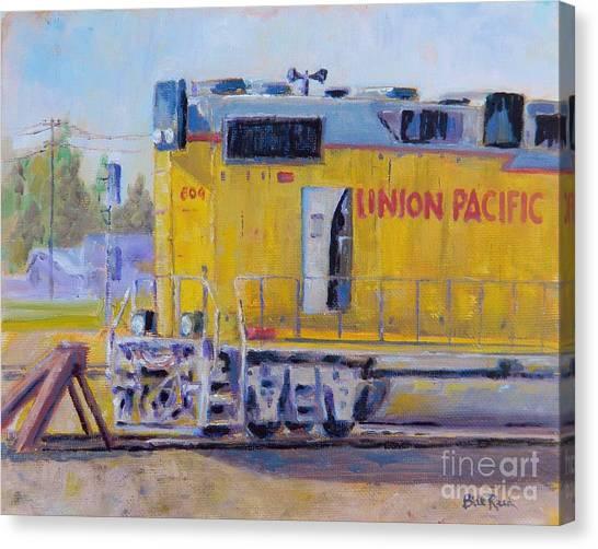 Union Pacific #604 Canvas Print