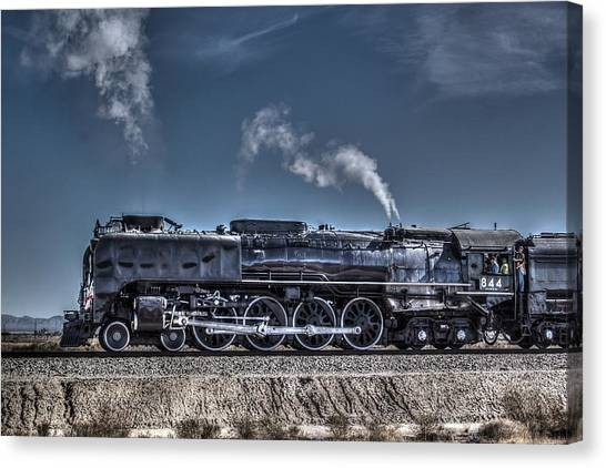 Union Pacific 844 Canvas Print