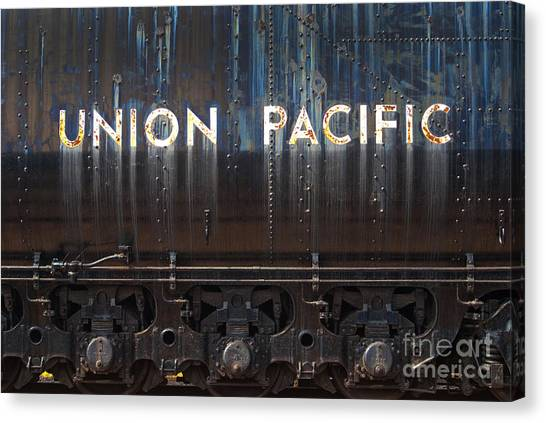 Union Pacific - Big Boy Tender Canvas Print