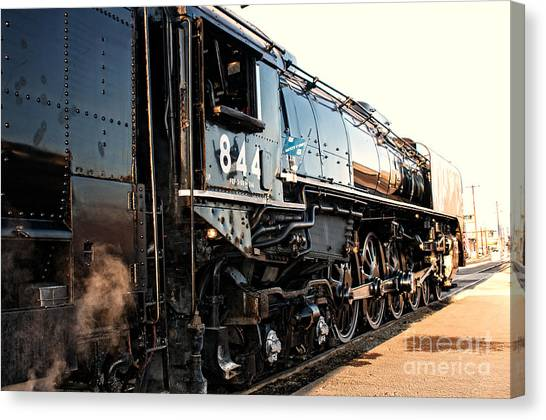 Union Pacific Engine #844 Canvas Print