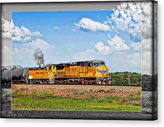 Union Pacific Railroad 2 Canvas Print