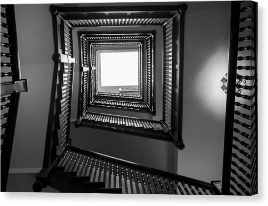 Union Station Hotel Stairway Canvas Print