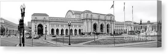Amtrak Canvas Print - Union Station Washington Dc by Olivier Le Queinec