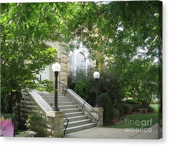 United Methodist Church  Canvas Print