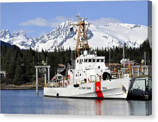 United States Coast Guard Cutter Liberty Canvas Print