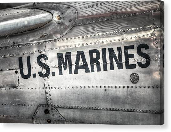 United States Marines - Beech C-45h Expeditor Canvas Print