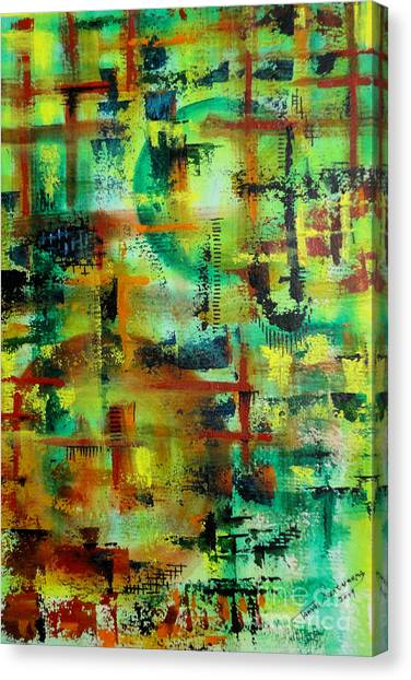 Two Sphere Canvas Print