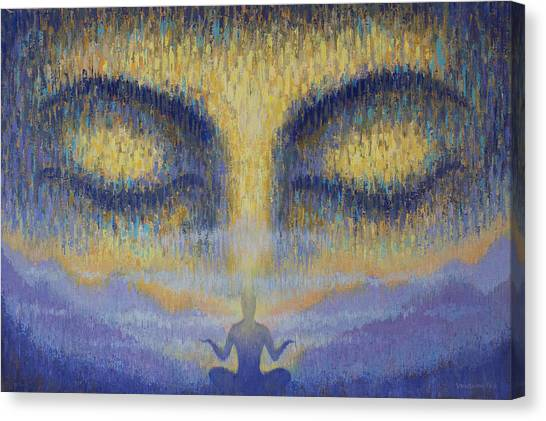Om Canvas Print - Unity by Vrindavan Das