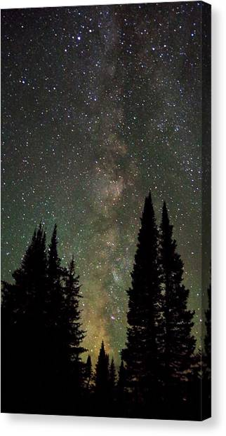 Universal Lights Canvas Print