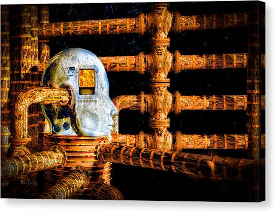 Nsa Canvas Print - Universal Mind by Bob Orsillo
