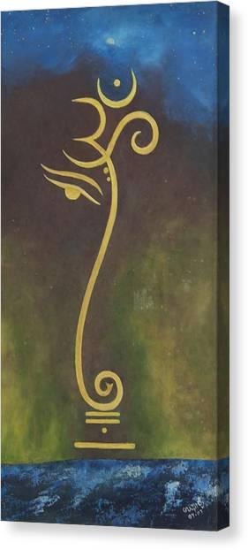 Universe Canvas Print by Usha Rai