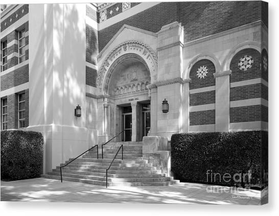 Ucla Canvas Print - University Of California Los Angeles Dodd Hall by University Icons