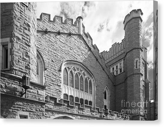 University Of Colorado Canvas Print - University Of Colorado Macky Auditorium by University Icons