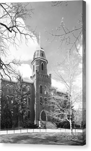 University Of Colorado Canvas Print - University Of Colorado Old Main by University Icons